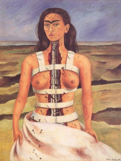 2005012301 Kahlo The Broken Column