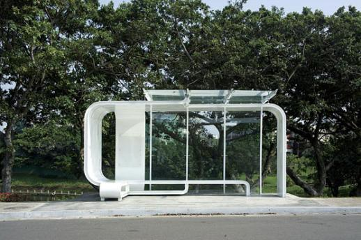 Design Bus Stop Paragem Autocarro China