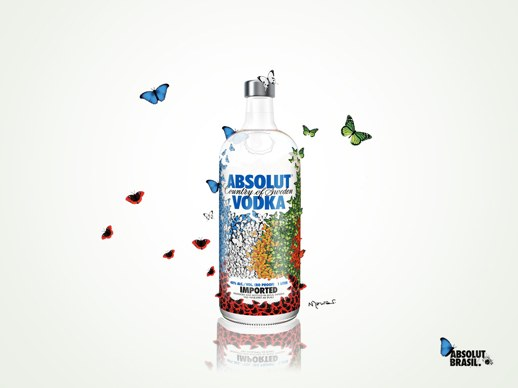 Absolut Vodka Russia Warhol  Alcool Brasil Criatividade Arte  Blog.Uncovering.Org Nelson Leirner-1024X768