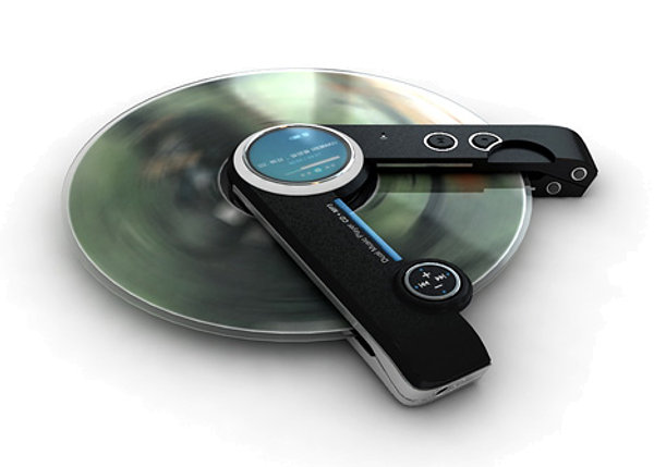 Musica Tecnologia Design Mp3 Leitor Cd Portatil