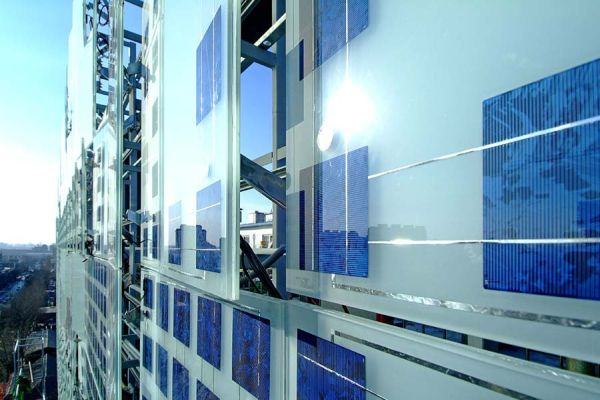 Ambiente Arquitectura Arquitetura China Energia Greenpix LED Painel Paredes Solar Tv
