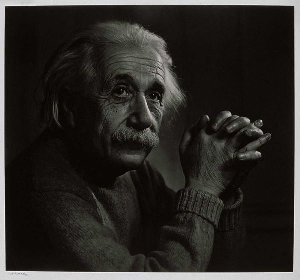 Albert Einstein, by Yosuf Karsh