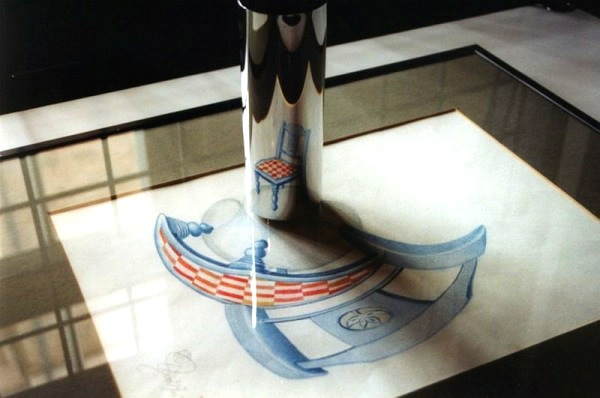 anamorphosis Illusionism math art
