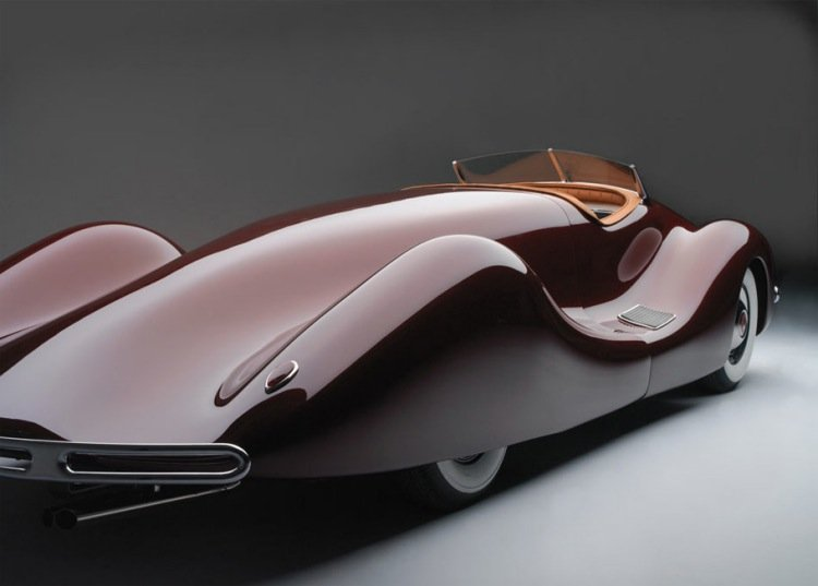 Norman E. Timbs Dave Crouse buick streamliner restauro carro automovel
