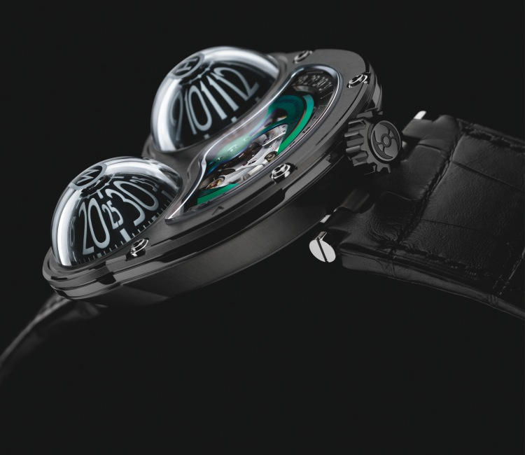 machine MB&F watch time temporal