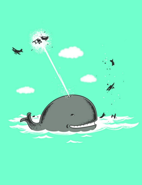 chow hon lam flying mouse illustration humor