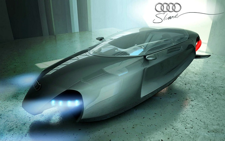 prototipo concept car audi shark