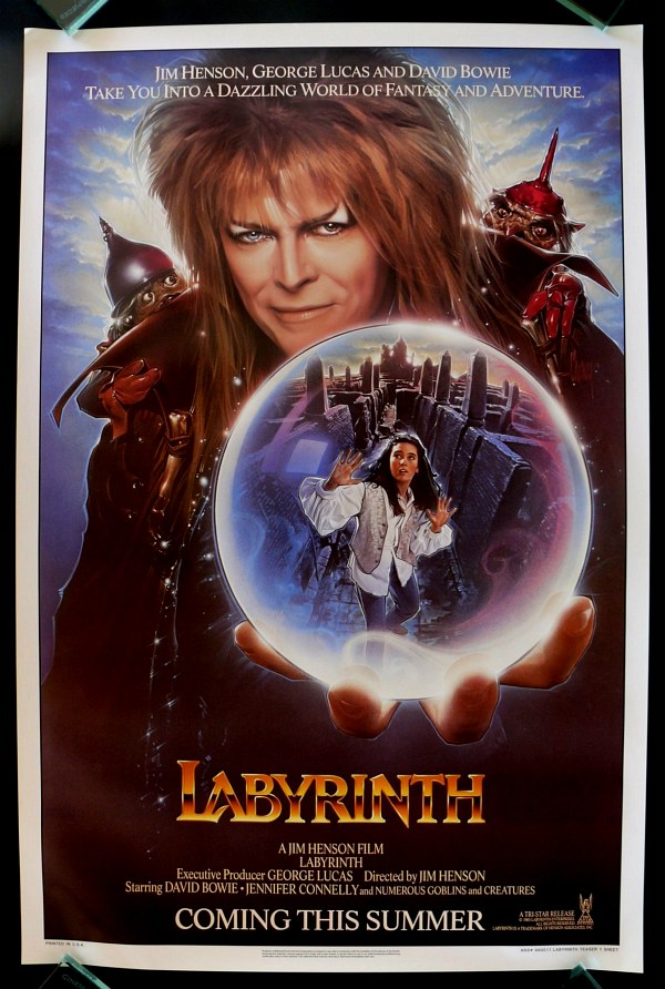 jim henson george lucas labirinto magia tempo david bowie outside over there