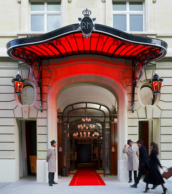 le royal monceau hotel paris
