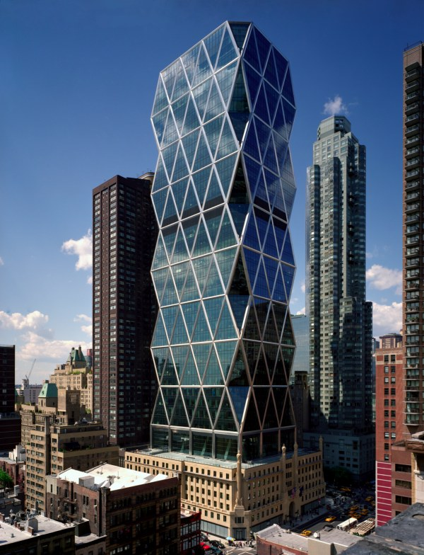 Hearst tower o primeiro arranha c us verde de new york - Construcciones coolbuild ...