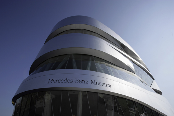 automovel, benz, espiral, mercedes, museu, unstudio