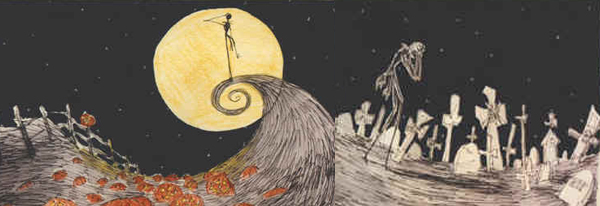 Halloween, Natal, Nightmare before the Chistmas, O estranho mundo de Jack, Tim Burton