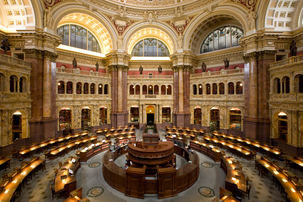 biblioteca, congresso, eua, washington