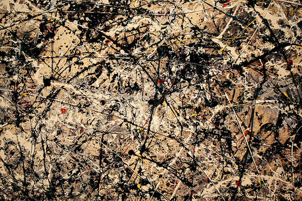 Jackson Pollock Expressionismo abstrato arte dripping action paiting