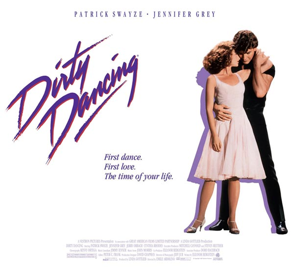 cinema, dança, Dancing, Dirty, filme, ghost, Gray, Jennifer, Lisa, Niemi, Patrick, Swayze