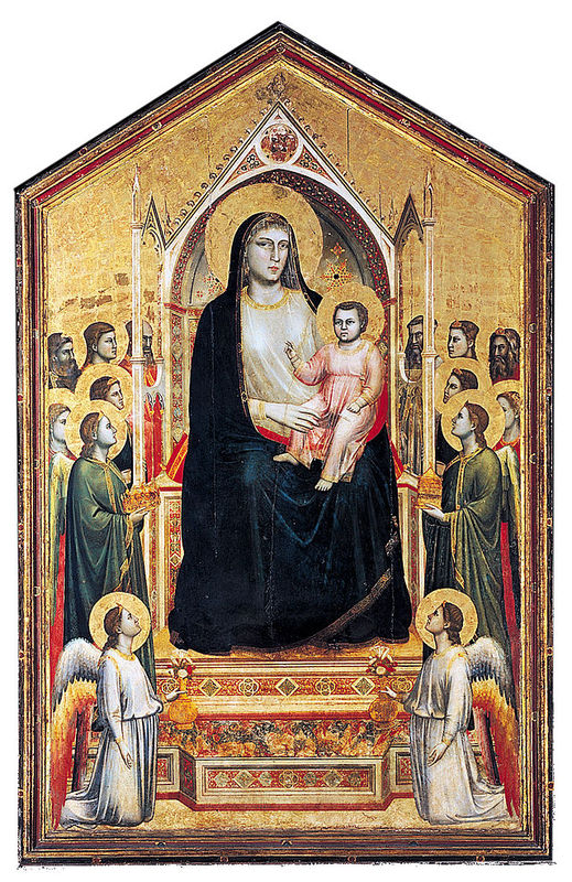 Ognissanti Madonna white ground c. 1310