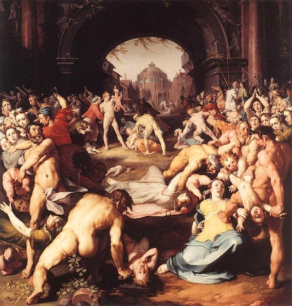 O Massacre dos Inocentes de Peter Paul Rubens
