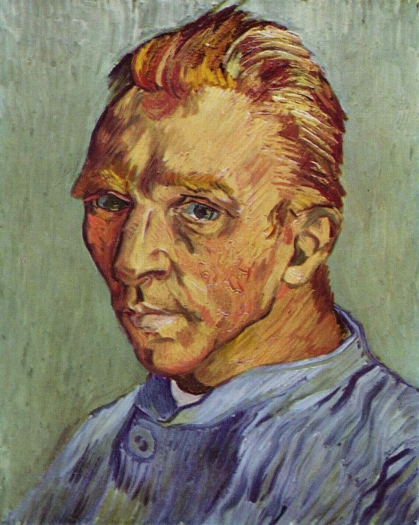 Retrato do artista sem barba de Vincent Van Gogh