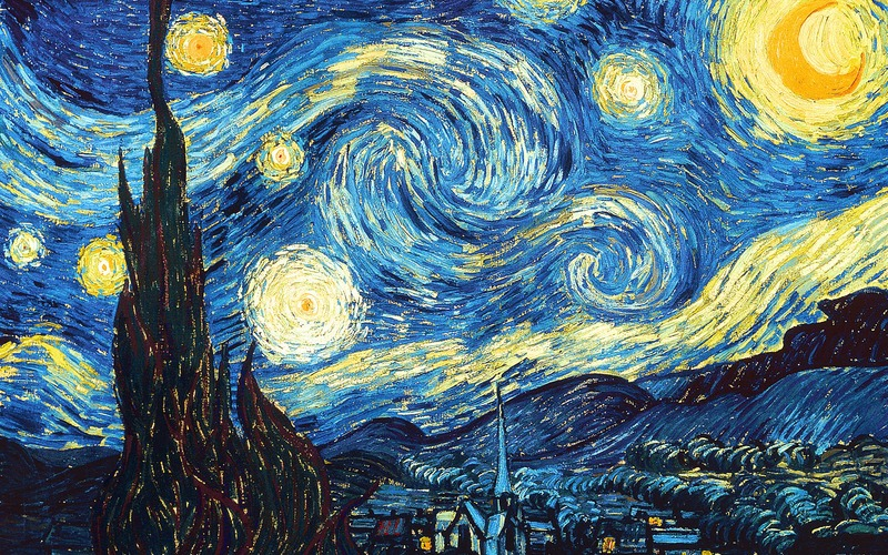 Starry Night de Vincent Van Gogh