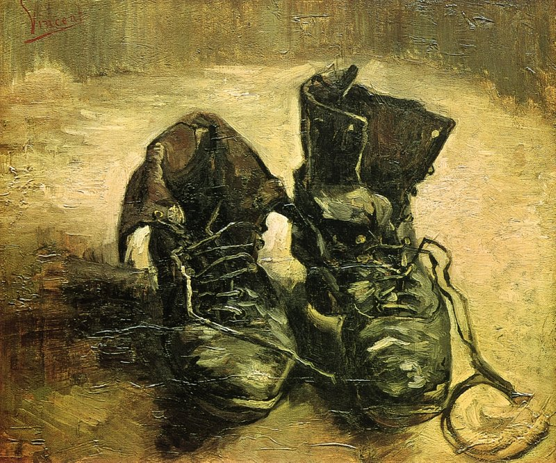 A Pair of shoes 1886 Van Gogh