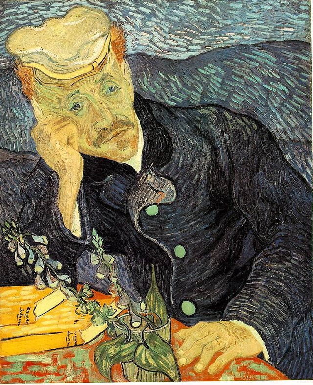 Portrait of Dr. Gachet 1890 Van Gogh