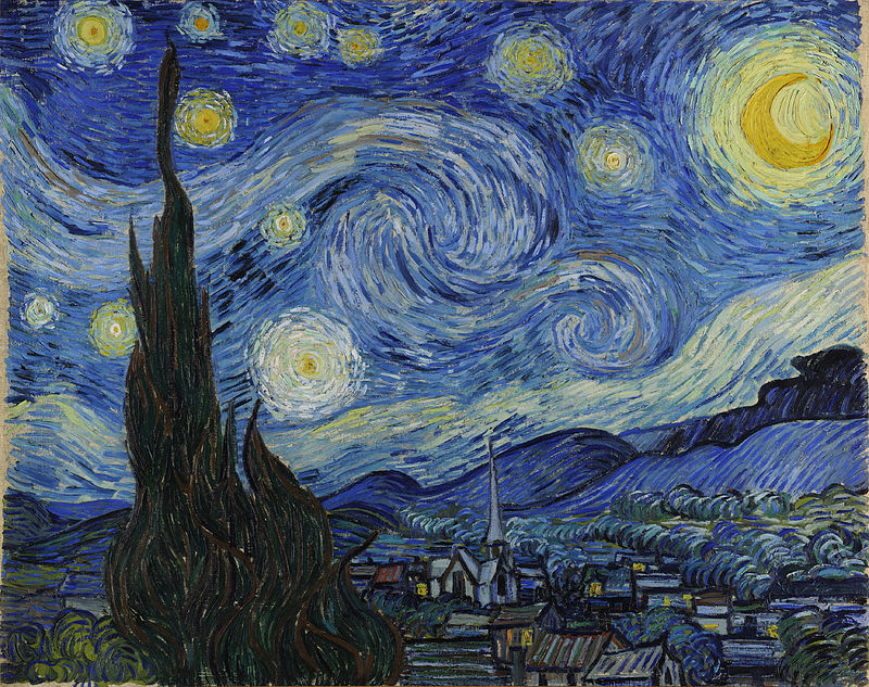 Starry Night 1889 Van Gogh