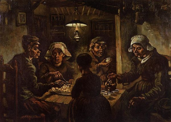 The Potatos eaters 1885 Van Gogh