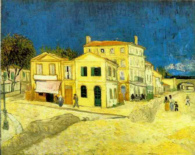 Yellow House 1888 Van Gogh