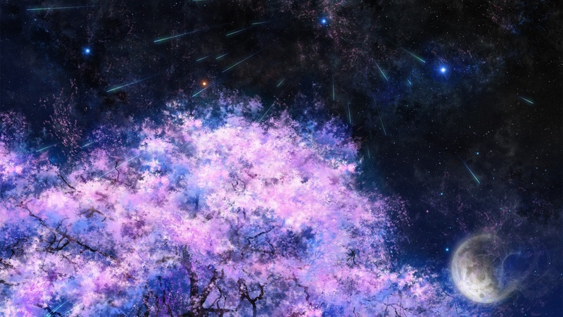 Art-painting-cherry-trees-space-meteor-shower_1600x900.jpg