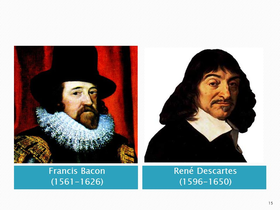 francis bacon and rene descartes essay Scientific method: renes descartes vs francis bacon custom essay francis bacon and rené descartes have very different place an order of a custom essay for.