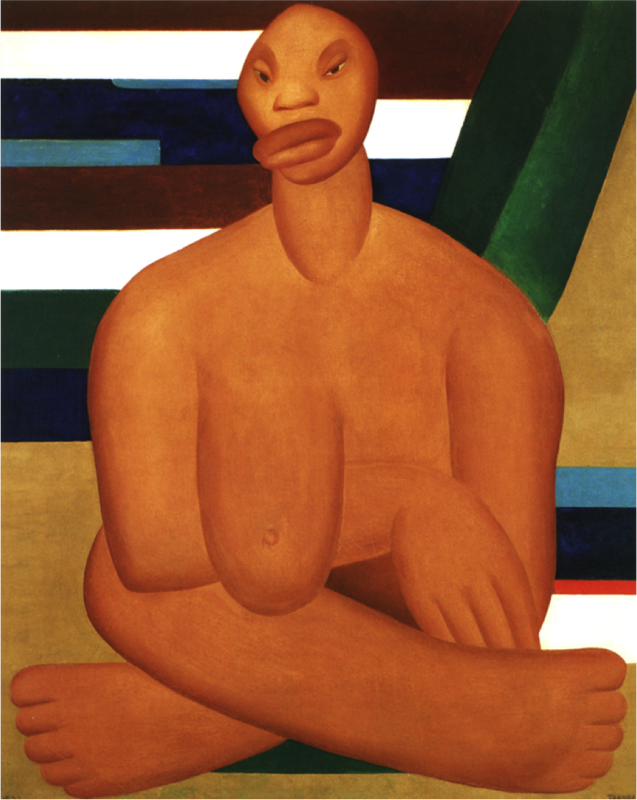 A Negra 1923 Tarsila do Amaral