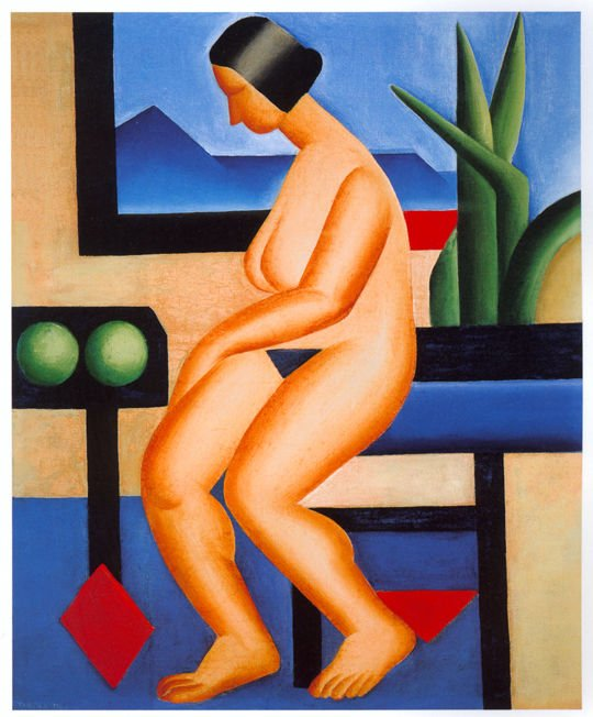 Nu 1923 Tarsila do Amaral