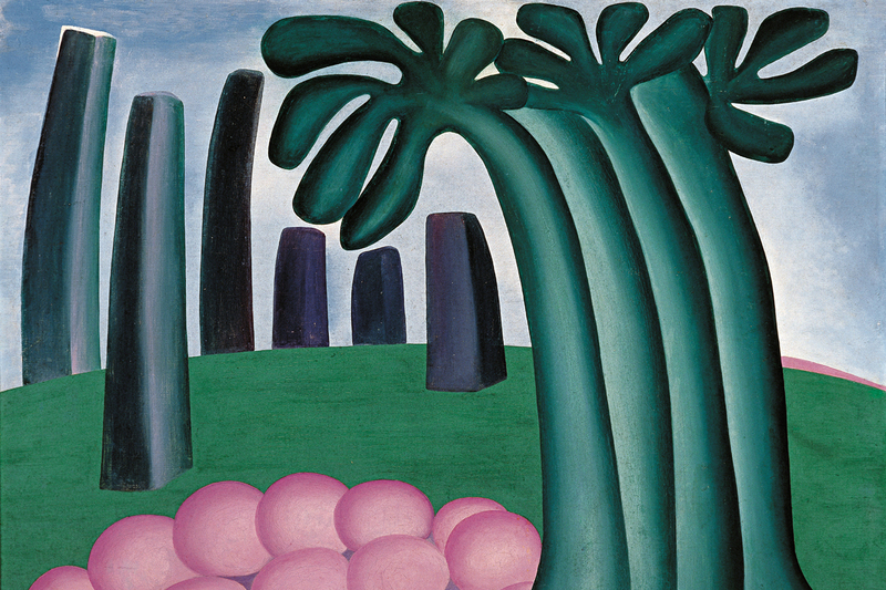 Floresta 1929 Tarsila do Amaral