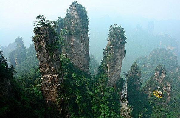 Tianzi Mountains, China6.jpg