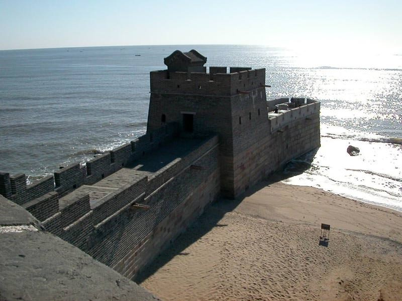 The Great Wall of China ends abruptly as soon as it reaches the ocean2.jpg