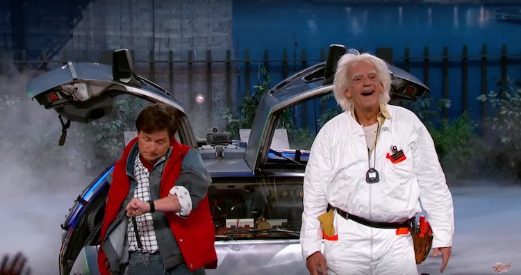 Marty-and-Doc-Brown-Michael-J-Fox-Christopher-Lloyd-screenshot-Jimmy-Kimmel.jpg